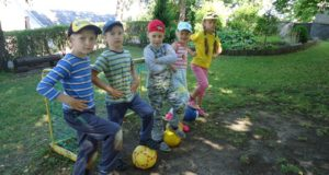 Ikimokyklinio amžiaus vaikų ugdymosi vasarą ypatumai