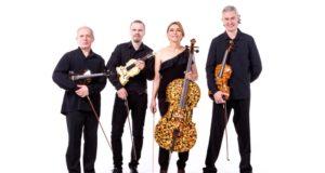 """Gintariniai instrumentai ir """"Amber Quartet"""" muzikavimas jau žavi publiką"""