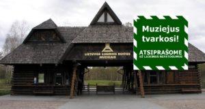 Svarbi informacija Lietuvos liaudies buities muziejaus lankytojams