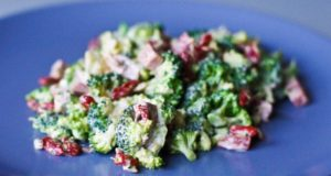 Brokolinių kopūstų salotos su antiena