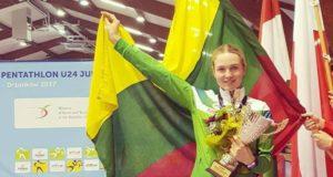 A. Tamašauskaitei – Europos jaunimo čempionato bronza