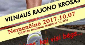 Jau šį šeštadienį – Vilniaus rajono kroso pirmenybių varžybos