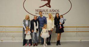 Nerijaus Juškos baleto mokykla sudomino Italijos princo šeimą