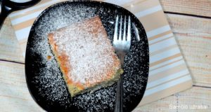 Karšto pieno pyragas su aguonomis