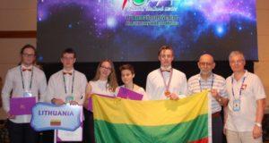 Tarptautinės astronomijos ir astrofizikos olimpiados bronza atiteko moksleiviui iš Jonavos