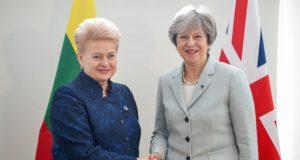 """D. Grybauskaitė: """"Lietuvos piliečių teisės Jungtinėje Karalystėje privalo būti išsaugotos"""""""