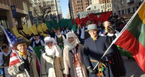 Apie Lietuvos šimtmetį paskelbta per tiesioginį JAV televizijos eterį