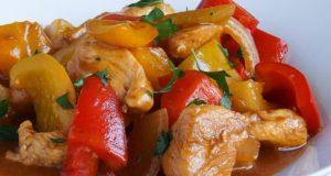 Saldžiarūgštė kiniška vištiena