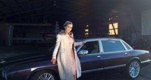 Drabužių kolekcijos modeliu tapusi Gerda Žemaitė virto vos atpažįstama pokario laikų dama