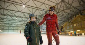 """Biatlonininkė Diana Rasimovičiūtė ragina kovoti už """"Išsipildymo akcijos"""" herojaus Eriko svajonę"""