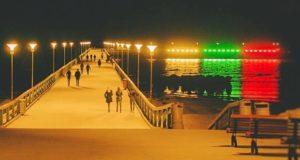 Palanga Šimtmečio proga Lietuvą pasveikins iškeldama didžiausią trispalvę virš Baltijos
