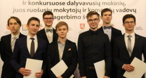 Pagerbti talentingiausi Lietuvos moksleiviai