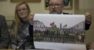 Šiauliuose Lietuvos 100-mečio proga – renginių lietus