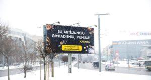 Kaunas Vilniui paruošė netikėtą gimtadienio dovaną