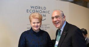 Pasaulio ekonomikos forume aptarta Lietuvos stojimo į EBPO pažanga