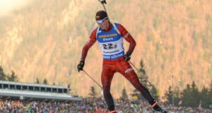 Sėkmė Europos biatlono čempionate: Karolis Dombrovskis pranoko olimpinius prizininkus