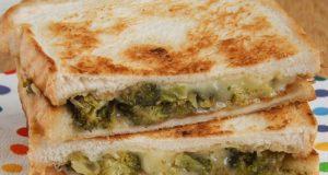 Karšti sumuštiniai su brokoliu ir sūriu