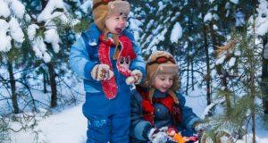 Ką su vaikais lauke veikti žiemą: lavinančių veiklų idėjos