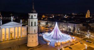 Gražiausios Europoje Kalėdų eglės kūrėjai jau kuria planus, kaip Vilnių papuošti dar įspūdingiau