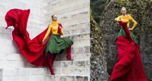 Lietuvos dizainerė sukūrė trispalvę, kurią galima apsivilkti