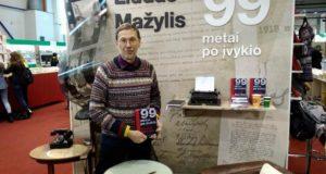 """Knygų mugėje dalyvaujantis L. Mažylis: """"Pasijaučiau taip, lyg būčiau lietuvių literatūros klasikas!"""""""