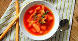 Angliška burokėlių sriuba