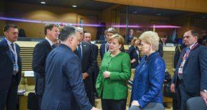 Prezidentė siekia užtikrinti ES paramą Lietuvai
