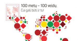 100 žmonių, buriančių lietuvius pasaulyje, bus įamžinti pašto ženkluose