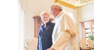 Paskelbta popiežiaus Pranciškaus vizito Lietuvoje programa