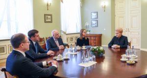 Prezidentė siūlo didinti viešojo sektoriaus skaidrumą