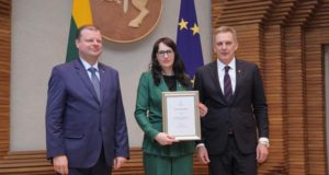 """Metų verslininke išrinkta Jūratė Kasperavičienė: """"Mūsų įmonėje vadovauja moterys"""""""