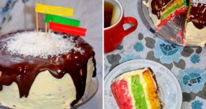 "Tortas ""Trispalvis"""