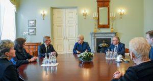 """Prezidentė: """"Seimo sprendimai turi atliepti žmonių lūkesčius"""""""