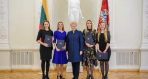Lietuvą garsinantiems jauniesiems muzikos talentams – Prezidentės padėkos