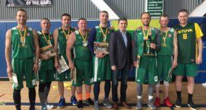 JAV. Santa Monikoje virė lietuvių krepšinio kovos