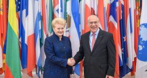 Baigėsi derybos dėl Lietuvos narystės EBPO