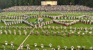 Dainų šventėje – daugiau nei 8 tūkst. šokėjų