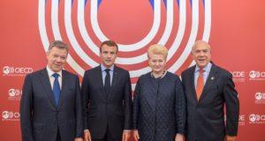 """Prezidentė: """"Narystė EBPO užbaigia Lietuvos įsitvirtinimą pasaulinėse organizacijose"""""""