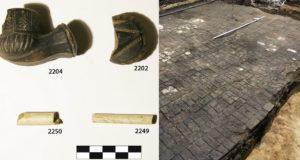 Vilniaus centre archeologai atranda Radvilų rūmų fragmentus
