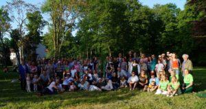 Vokietijos lietuvius subūrė Šeimos šventė Hiutenfelde