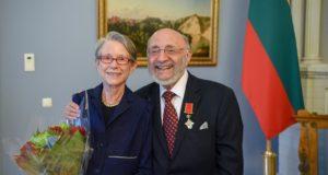 Holokausto atminties saugotojui S. Bakui – valstybės apdovanojimas