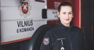 """Ugniagesė gelbėtoja I. Baranauskaitė: """"Šiam darbui reikia didelio noro ir savitvardos"""""""
