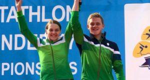 Europos jaunių šiuolaikinės penkiakovės čempionate lietuviai iškovojo trečiąją vietą