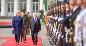"""Prezidentė: """"Airija – atsakingos politikos pavyzdys"""""""
