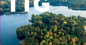 Populiaraus Jungtinės Karalystės turizmo verslo žurnalo viršelį puošia Lietuva