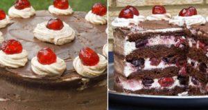 Tortas su vyšniomis