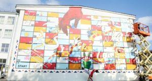 """Penktasis meno simpoziumas """"Malonny"""" Marijampolėje paliko įspūdingus piešinius"""