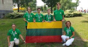 Jaunieji geografai iš tarptautinės olimpiados Kanadoje grįžta su aukso ir sidabro medaliais