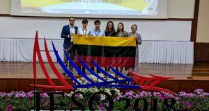 Iš pasaulinės geomokslų olimpiados lietuviai parsiveža bronzą