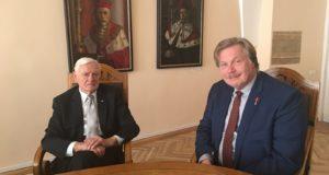 LR Garbės konsulas dr. Jonas Prunskis dalyvavo Prezidento Valdo Adamkaus tarptautinėje konferencijoje